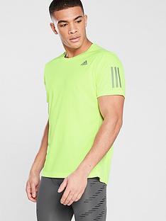 adidas-own-the-run-running-t-shirt-yellow