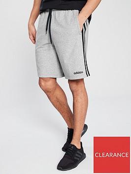 adidas-3s-core-shorts-grey-marl