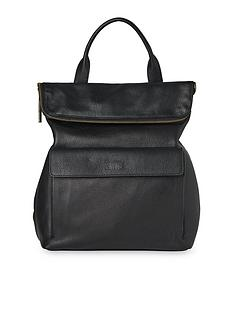 whistles-leather-verity-back-pack-black