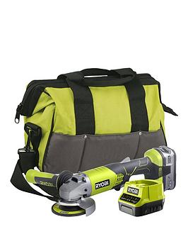 ryobi-r18ag-140s-18v-one-cordless-angle-grinder-starter-kit-1-x-40ah
