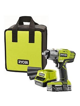 ryobi-r18iw3-120s-18v-one-cordless-3-speed-impact-wrench-starter-kit-1-x-20ah