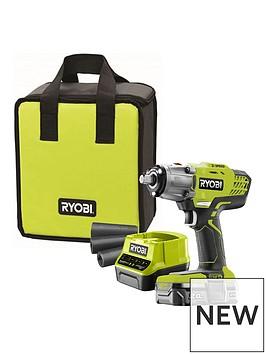 ryobi-ryobi-r18iw3-120s-18v-one-cordless-3-speed-impact-wrench-starter-kit-1-x-20ah