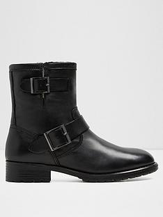 aldo-gochal-buckle-flat-ankle-boot