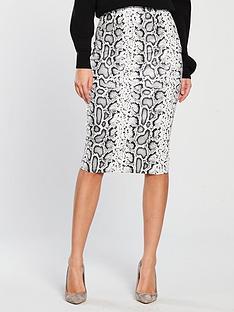 v-by-very-textured-pencil-skirt-snake-print
