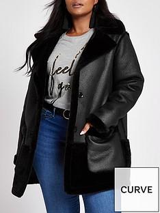 ri-plus-plus-faux-fur-reversiblenbspcar-coat-black