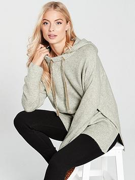 river-island-river-island-oversized-knitted-hoody--grey