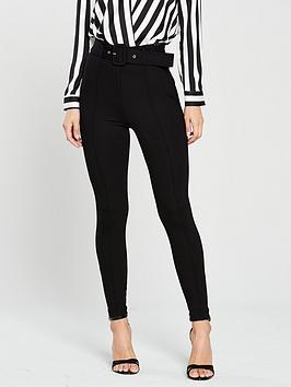 river-island-river-island-belted-ponte-skinny-trousers--black