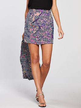 river-island-river-island-sequin-boucle-mini-skirt--purple