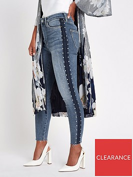 ri-petite-petite-harper-high-waisted-side-detail-skinny-jeans-blue