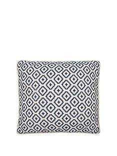 ideal-home-tikal-blue-cushion