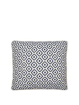 ideal-home-tikal-blue-cushion