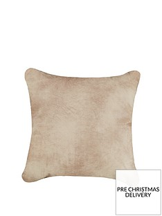 ideal-home-rodeo-faux-leather-cushion