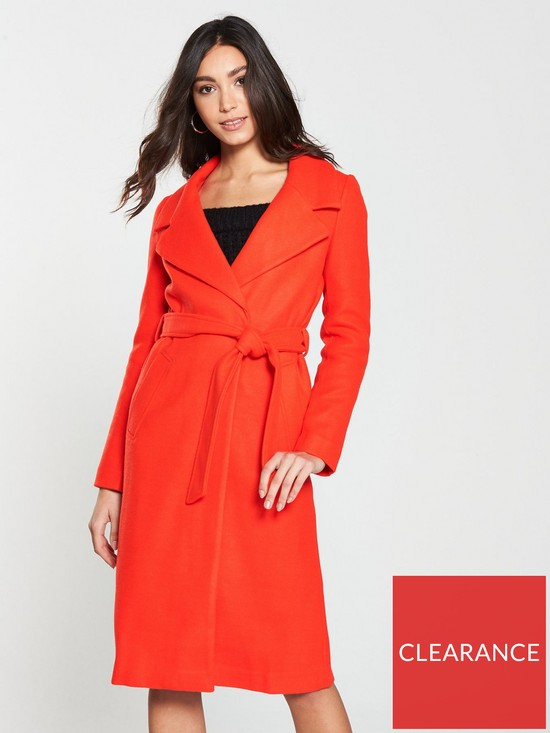9627c7b3 Robe Coat- Red