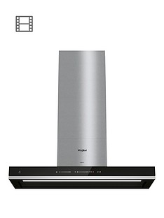 whirlpool-w-collectionnbspwhss90ftsk-90cm-t-shape-chimney-hood-blacksteel