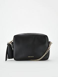 karen-millen-crossbodynbsptassel-bag-black