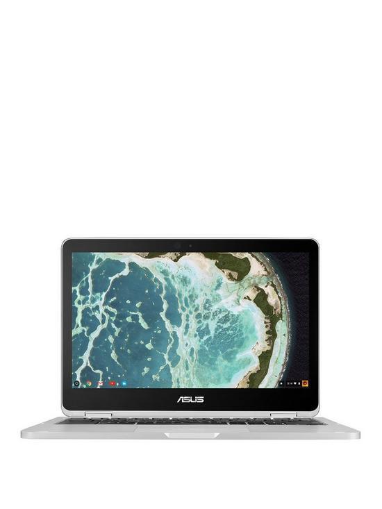 Flip Intel® Core™ M3 Processor, 4Gb RAM, 64Gb eMMC SSD 12 5 inch Chromebook  - Silver