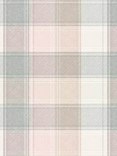 arthouse-pink-and-grey-check-wallpaper