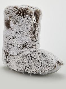 bedroom-athletics-cole-short-luxury-faux-fur-boot-slipper-grey
