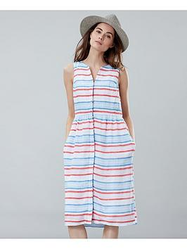 joules-lisia-linen-dress-multi