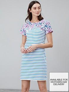 joules-riviera-floral-stripe-dress-blue-floral-stripe