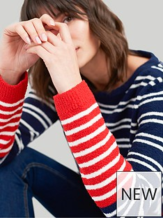 joules-seahamnbspstriped-chenille-jumper-multi