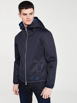 armani-exchange-zip-through-hoodie-navy
