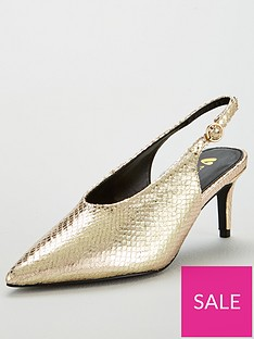 v-by-very-carina-slingback-mid-heel-point-court-gold