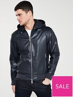 armani-exchange-blousonnbspwith-hood-black