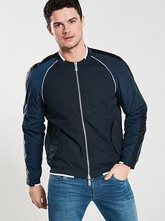 armani-exchange-bomber-sweat-top-navyblue