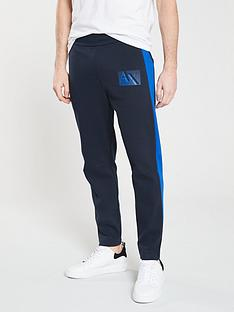 armani-exchange-side-logo-sweat-pants-navyblue