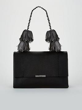 ted-baker-meloddy-leather-pom-shoulder-bag-black