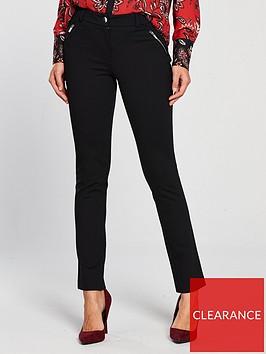 wallis-ponte-trouser-blacknbsp