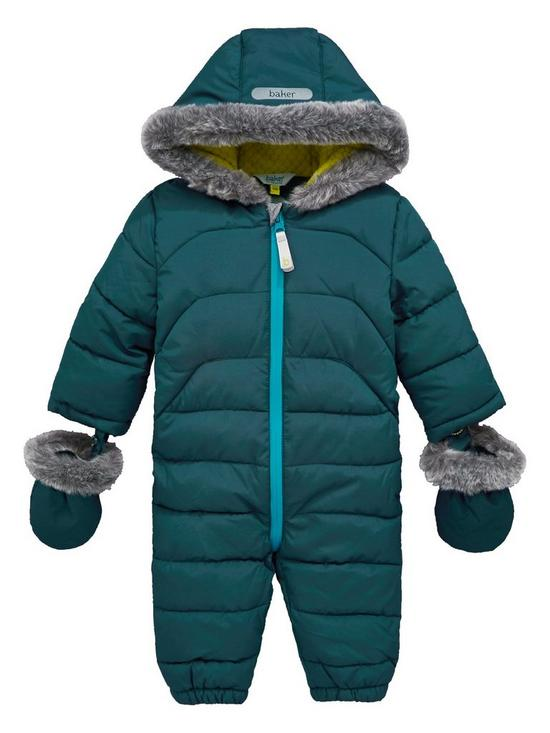 fa8198c49e362 ... Baker by Ted Baker Baby Boys Snowsuit very.co.uk best shoes 183a0 27d96  ...