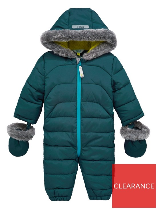 0d89eee1f094e Baker by Ted Baker Baby Boys Snowsuit