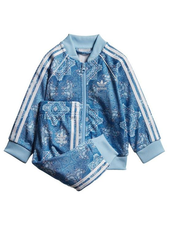 hot sale online ef146 b15a6 adidas Originals Adidas Originals Baby Girls Superstar Tracksuit   very.co. uk