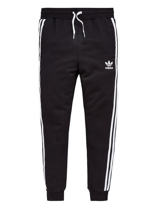 12850e287a70 adidas Originals Boys Trefoil Pants - Black