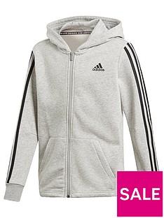 designer fashion dbcd4 32052 adidas Boys Mh 3 Stripe Jacket