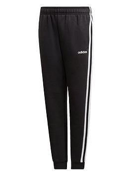 adidas-boys-3-stripe-pants-black