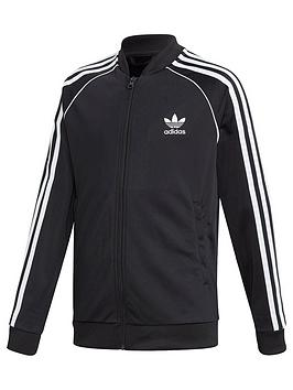 adidas-originals-childrens-superstar-zip-front-top-black