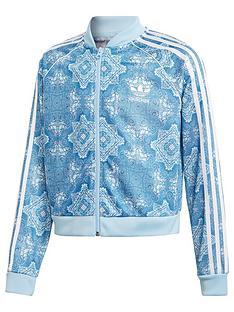 san francisco 82904 39c1e adidas Originals Adidas Originals Girls Superstar Track Top