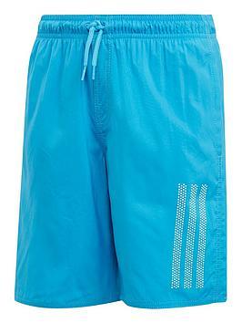 adidas-boys-3-stripe-swim-shorts-ndash-blue