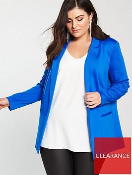 v-by-very-curve-jersey-longline-blazer-mid-blue