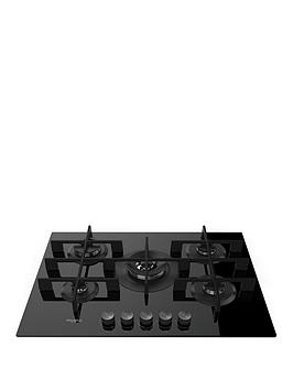 Whirlpool W Collection Gow7553Nb 73Cm Wide Gas Hob - Hob Only