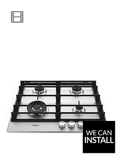 whirlpool-w-collectionnbspgmw6422ixl-60cmnbspwide-gas-hob-with-optional-installation-stainless-steel