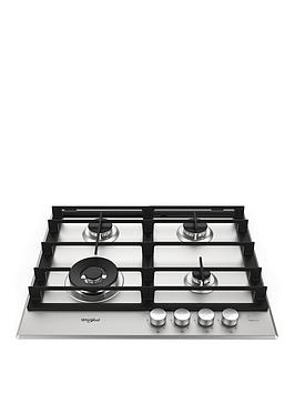 Whirlpool W Collection Gmw6422Ixl 60Cm Wide Gas Hob - Hob With Installation