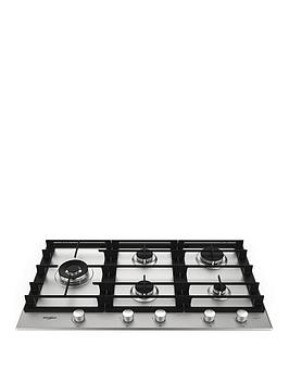 Whirlpool W Collection Gmw9552Ixl 59Cm Gas Hob - Hob With Installation