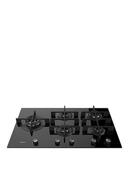 Whirlpool W Collection Gow9553Nb 86Cm Wide Gas Hob - Hob Only