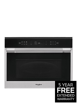 whirlpool-w7mw461uk-60cmnbspbuilt-in-microwave-oven-with-grill-with-optional-installation-blacksteel