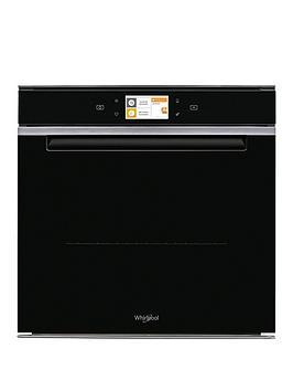 whirlpool-w11i-om1-4ms2-h-60cm-single-electric-hydrolytic-oven-inoxblack