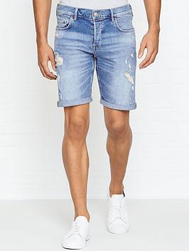 allsaints-isher-distressed-denim-shorts-blue